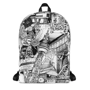 Berlin All Over Backpack