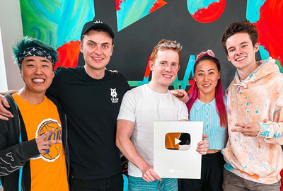 Team RAR Youtube Channel Receives Silver Play Button