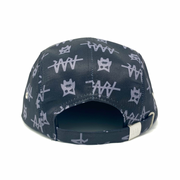Team RAR 5-Panel Flat Brim Back