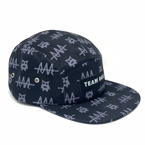 Team RAR 5-Panel Flat Brim Front Right
