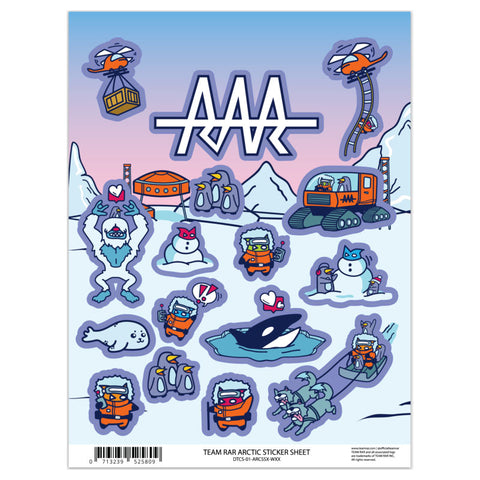 Deluxe Arctic Sticker Sheet