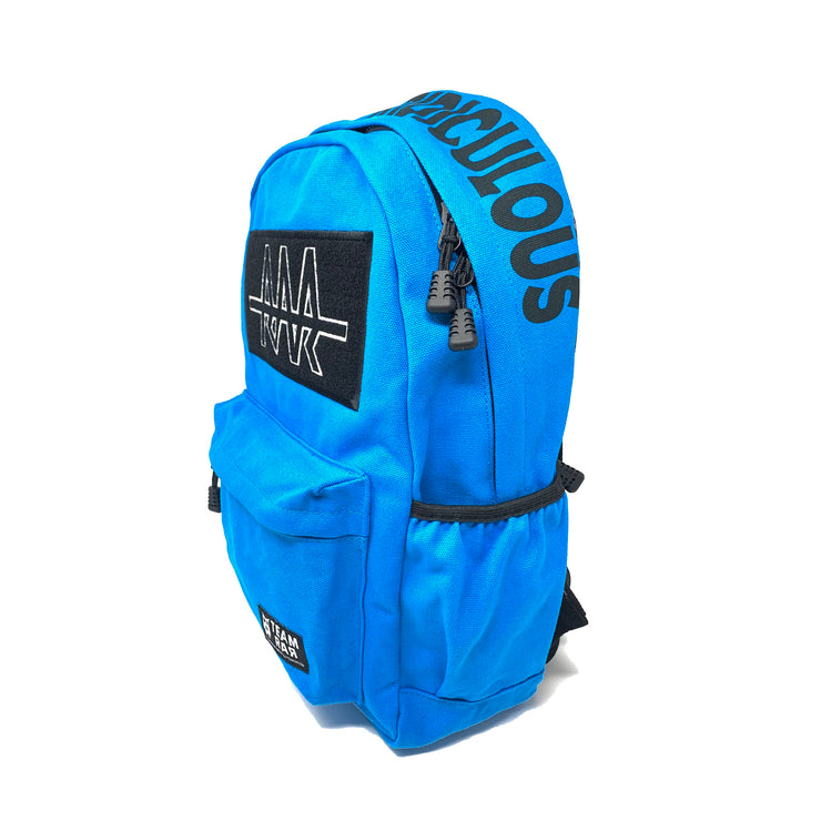 Team RAR Velcro Backpack - Blue