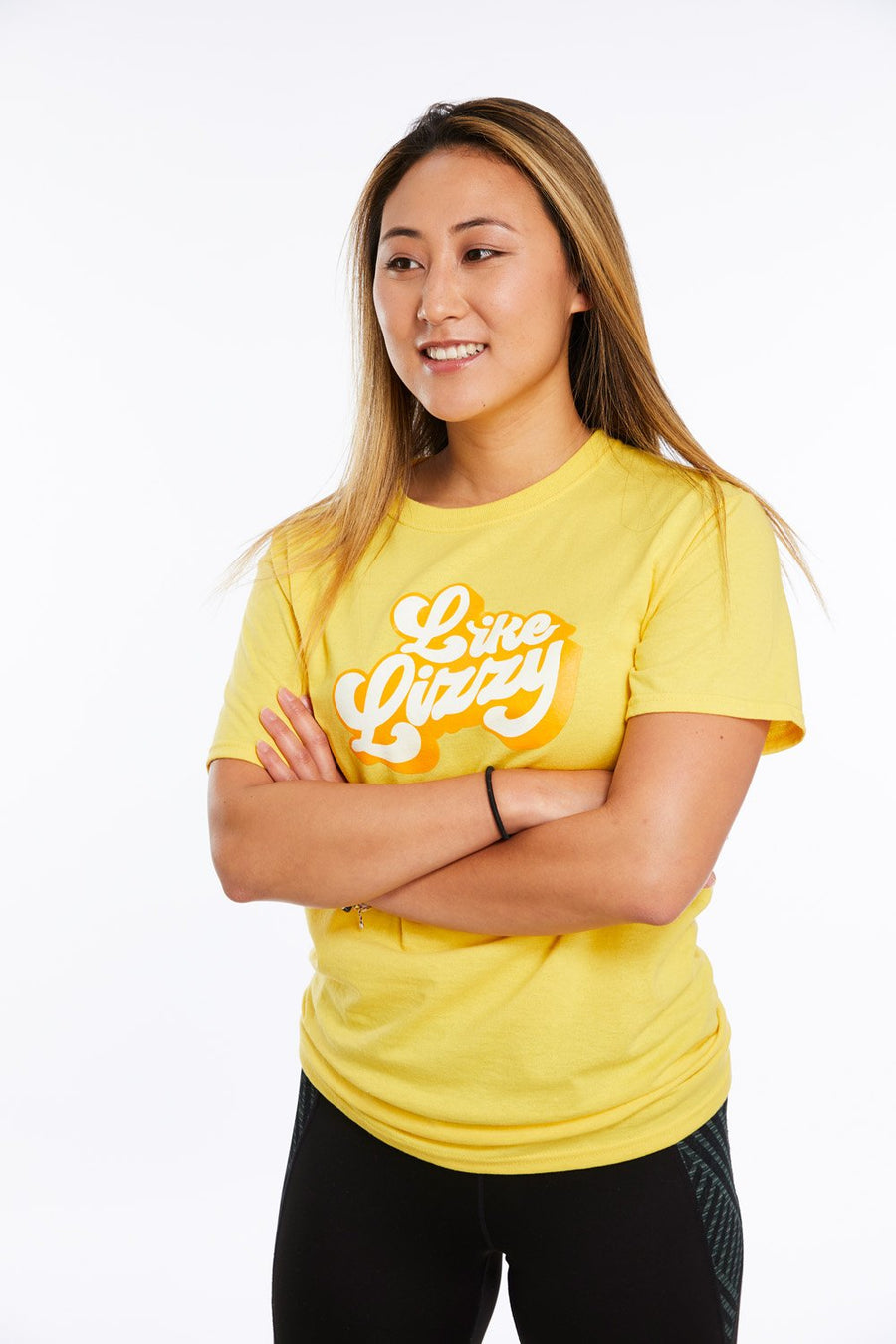 Official Like Lizzy Retro Yellow Tee