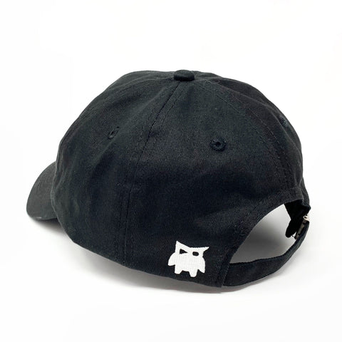 Team RAR Dad Hat - Black Back Side View