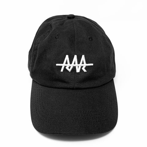 Team RAR Dad Hat - Black Front View