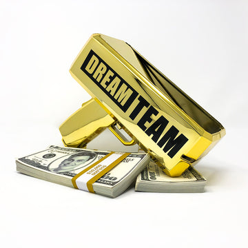 Signed DREAM TEAM Money Gun - LTD Edition