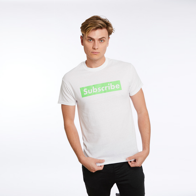 Signature Green Subscribe Tee
