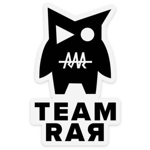 TEAM RAR STICKER