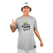 Team RAR Graffiti T-Shirt - Gray