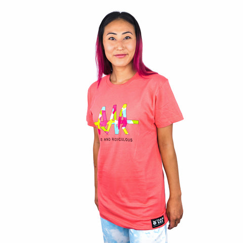 Camo RAR Tag T-Shirt - Pink