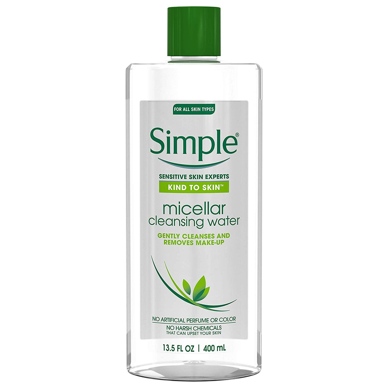 Simple Kind to Skin Cleansing Water, Micellar, 13 5 Fl Oz