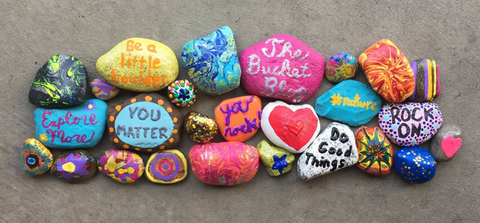rock painting kindness rocks for kids and adults