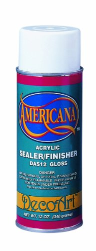 DecoArt 12-Ounce Americana Acrylic Sealer/Finish Aerosol Spray, Gloss