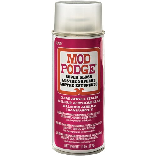 Mod Podge Acrylic Sealer (11-Ounce), 1450 Super Gloss