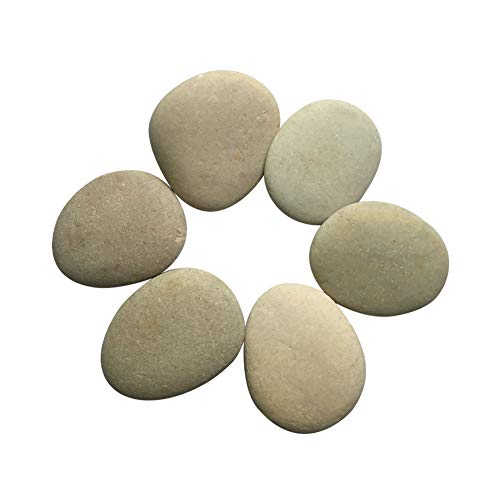 The stones range in length from about 2.0 to 2.5 inches. Different size and shape stones.