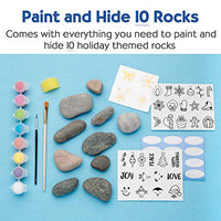 Paint and Hide 10 Rocks