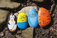 It's weather resistant and perfect for you, your friends and family to paint rocks to hide outdoors to spread kindness!