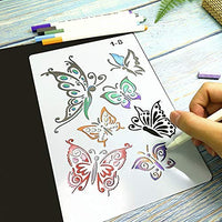A variety of shapes: angel, letters, flowers, birds, butterfly etc.