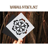 A Must Have for The Mandala Lover - This mandala dotting stencil is great idea for any craft-lover and good gift for your friend when Valentine's Day, Mothers days, Christmas, Thanksgiving, Birthday etc.