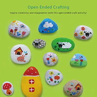 Display your painted rock art in your home and garden, keep as pet rock, or hide them across the town and spread joy and positivity in your neighborhood.