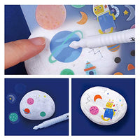 All of the rocks and paints are non-toxic, it is safety.Creative art kits meet the needs of children's healthy and happy growth.The best gift for kids.