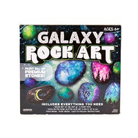 Galaxy painting: learn how to paint a stellar scene with a paintbrush and foam sponge brush