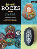 Art on the Rocks offers a colorful, modern approach to rock painting.