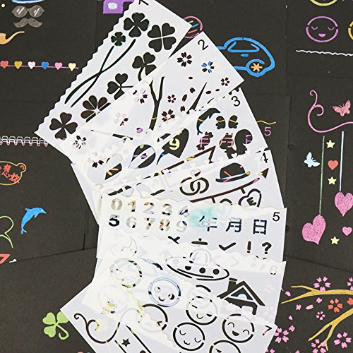 Drawing and Painting Stencils, for Kids or Adults,16PCS Stencils