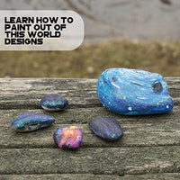 Create your own galaxy designs with Galaxy Rock Art! Transform ordinary stones into vibrant works of art with this all-inclusive kit.