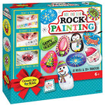 Decorate, paint and hide holiday themed rocks!