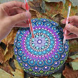 Lightweight and Durable -These Creative and great tool for mandala dot art tools are super lightweight plastic that allows you to paint dots for hours without fatigue from heavy tools.