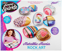 Glitter Metallic Mania Rock Art