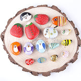 Display your painted rock art in your home and garden, keep as pet rock,