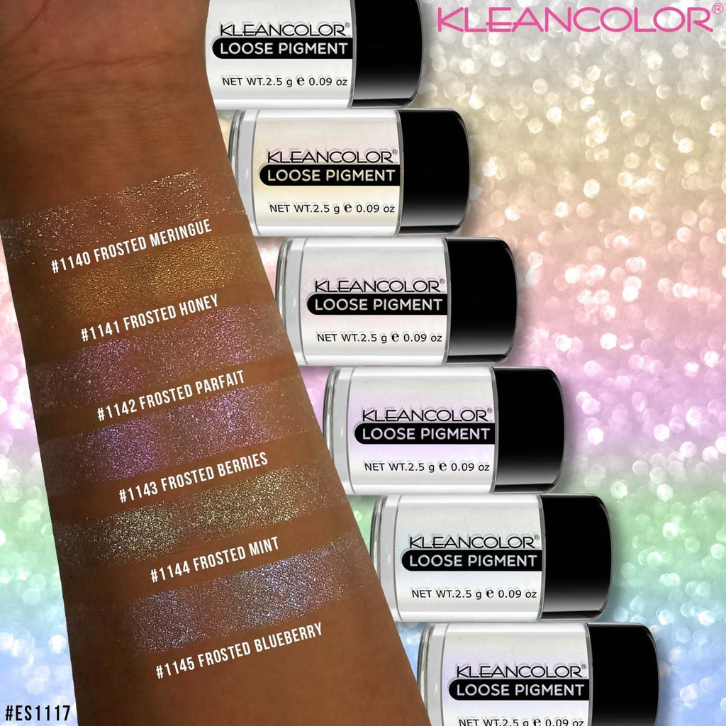Kleancolor Broke Girl Cosmetics Brow Pomade Holographic Loose Pigment For Eyes And Face 1140 1145