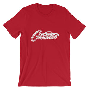 Unisex Chevrolet Camaro Profile T-Shirt - Barn Find Apparel
