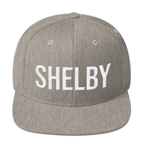 Shelby Flatbill Snapback - Barn Find Apparel