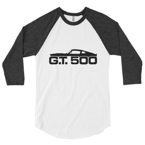 Unisex Shelby G.T.500 Profile Baseball T-Shirt - Barn Find Apparel