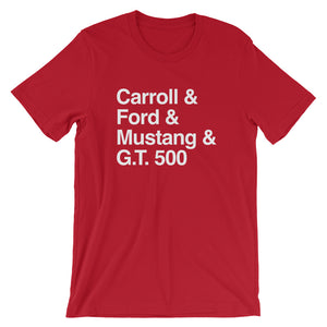 Unisex Shelby G.T.500 Connected T-Shirt - Barn Find Apparel
