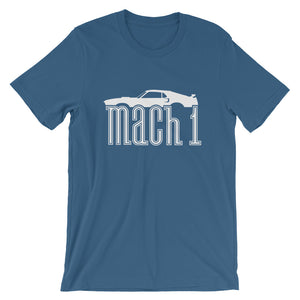 Unisex Ford Mustang Mach 1 Profile T-Shirt - Barn Find Apparel