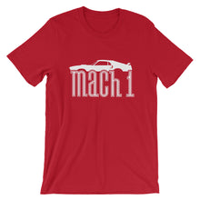 Load image into Gallery viewer, Unisex Ford Mustang Mach 1 Profile T-Shirt - Barn Find Apparel