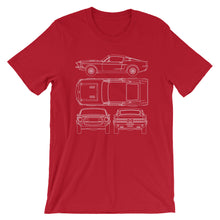 Load image into Gallery viewer, Unisex Shelby G.T.500KR Blueprint T-Shirt - Barn Find Apparel