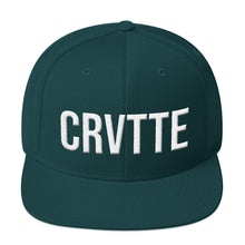 Load image into Gallery viewer, Chevrolet Corvette 'CRVTTE' Flatbill Snapback - Barn Find Apparel
