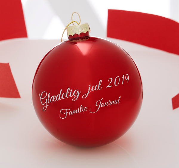 Familie Journal julekugle 2019