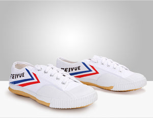 "CHAUSSURES ""FEIYUE"" BLANCHES pointures adulte & enfant"
