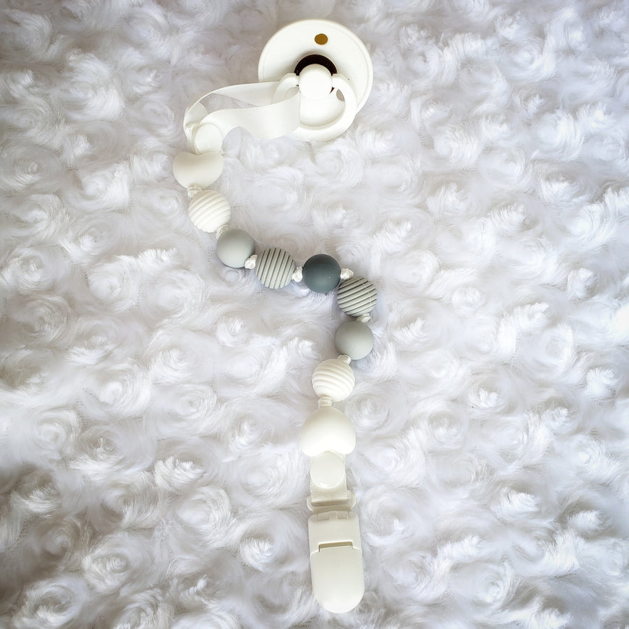 My Swan Teether & Teething Clip