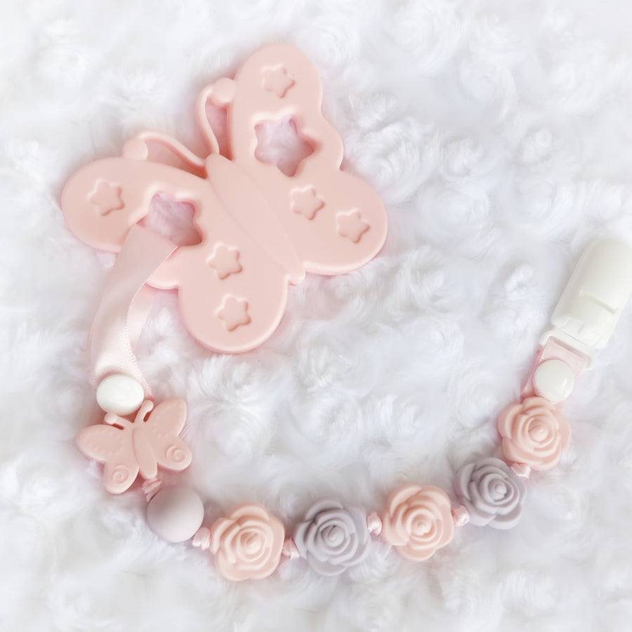 My Pretty Butterfly Teether & Teething Clip
