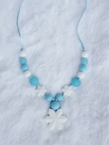 Frozen Sensory Necklace Style 3