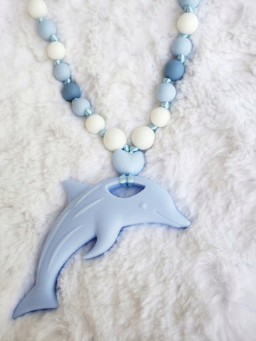 Calming Dolphin Sensory Necklace