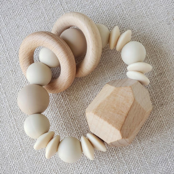 The Perfectly Neutral Rattle Teething Ring