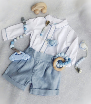Newborn Baby Boy's Two Piece Lovely Outfit